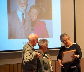 Life membership conferred on Pat and Warwick Wright