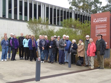 Visit to Australian PlantBank The Australian Botanic Garden Mt Annan NSW. Photo: Anne Campbell