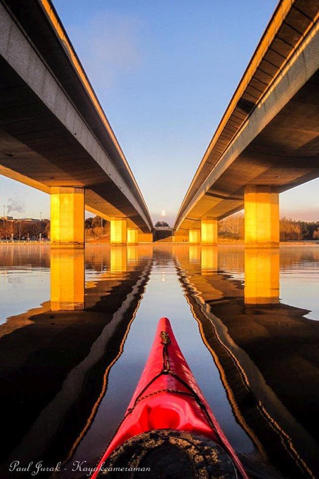 Under the Commonwealth Ave bridges - Paul Jurak