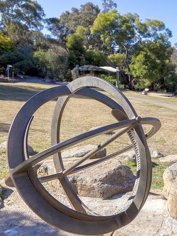 Sundial at the Gardens (Photo: Pam Rooney)