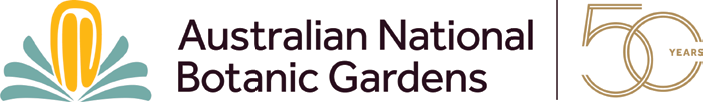 ANBG 50th anniversary logo