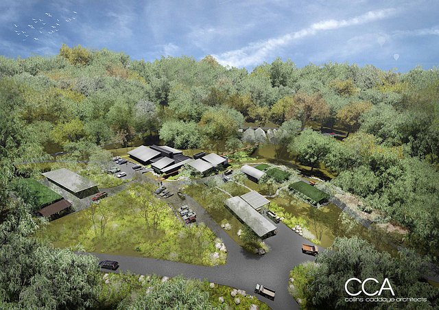 Impression of the new Horticultural Centre
