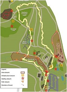 ANBG COVID-19 Reopening Plan - Stage 1 Map