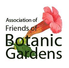 Association of Friends of Botanic Gardens logo
