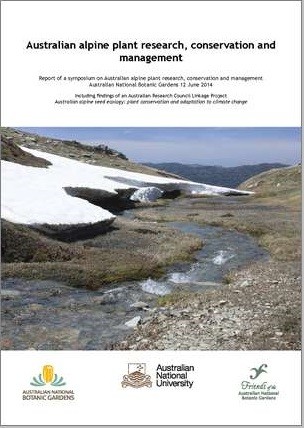 Cover of Alpine plant research report