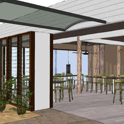 Gardens' Café proposed renovations