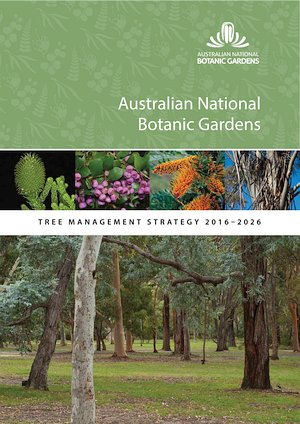 Cover of the ANBG Tree Management Strategy 2016-2026