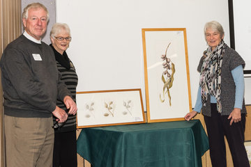 David Coutts, Margaret Steele and Judy West (Photo: Liz Kay)